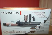 Remington Curl & Straight Confidence - Rotating Hot Air Styler AS8606 New.