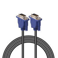 HD 15 Pin VGA Extension Cable Cord Wire Line for PC LCD Monitor Male to Male