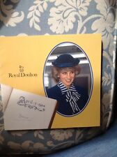 ROYAL DOULTON POTTERIES VISIT PRINCESS DIANA BOOKLET APRIL 1984