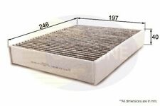 Pollen Cabin Filter Carbon FOR PORSCHE CAYMAN 981 2.7 13->ON Coupe Petrol 275
