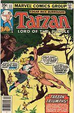 Tarzan V1 #11, Marvel, 1978