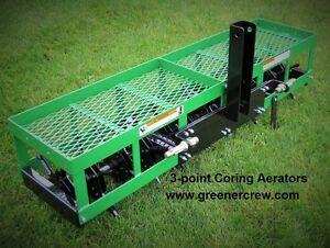 """Coring Aerator 3-Point 54"""" for Home & Estate"""