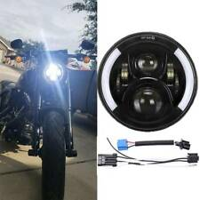"7"" inch LED Headlight For Harley Davidson Road King Electra Street Road Glide"