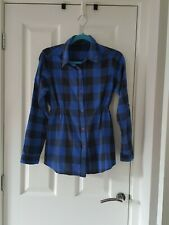 Blooming Marvellous ladies check maternity shirt size 12
