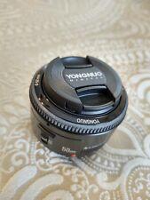YONGNUO EF YN 50mm F/1.8 Standard Prime Lens for Canon
