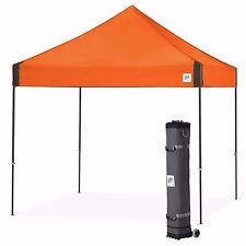 E-Z UP Vantage Canopy Instant Shelter 10ft x 10ft Gazebo Tent - Steel Orange