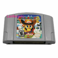 Mario Party 2 Video Game US Version For Nintendo N64 Authentic TESTED WORKING