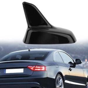 For AUDI Car Black Roof Dummy Radio Signal Shark Fin Style Aerial Antenna Cover