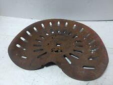 Vintage Metal Tractor Seat Slot Holes 1 Center Bolt Mount Pressed Steel Horse