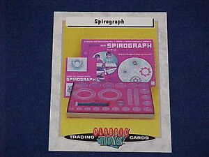 CLASSIC TOYS TRADING CARDS SPIROGRAPH DESIGN DRAWING ART SET