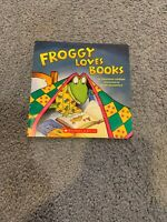 Froggy Loves Books by Jonathan London (2007)