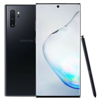 Samsung Galaxy Note10+ 5G - 256GB - Aura Black - (Verizon) - Smartphone - VGC