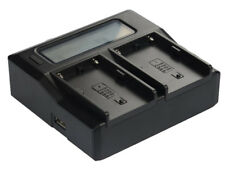 Quick LCD Battery Charger for Sony BP-U30 BP-U60 PMW-EX1R EX3 XDCAMEX Camcorder