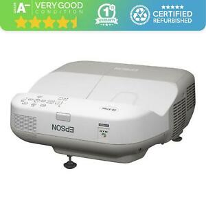 Epson EB-475Wi Projector - 3LCD - WXGA 16:10 - Ultra Short Throw - 2600 Lumens