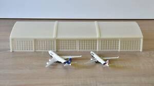 Hangar Airport Buildings Diorama 1/500 Scale