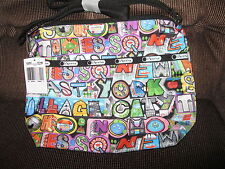 LESPORTSAC SMALL CLEO CROSSBODY IN NYC PRINT, NEW WITH TAG