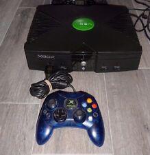XBOX ORIGINAL SYSTEM CONTROLLER COMPLETE MOD MODDED 10,000+ GAMES 160GB BUNDLE