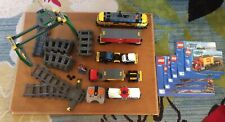 LEGO City Cargo Train 7939 - Complete - Missing Stickers - See Description