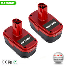 2x 19.2V 4.0Ah Replace Craftsman 19.2 Volt Lithium Diehard Battery C3 XCP 11375