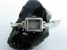 """Vintage 925 Sterling Silver 7"""" Watch Band and Case"""