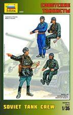 Zvezda 1/35 escala Soviético tanque Tripulación