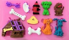 Dog and Puppy Things 11 Cavities Silicone Mold - Fondant, GP, Chocolate, Crafts