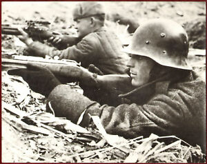 1940s WW2 Large Photo German Bulgarian?Soldiers Russian Eastern Front Russia War