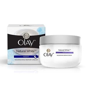 Olay Natural White Skin ALL-IN-ONE Fairness Night Cream 50gm