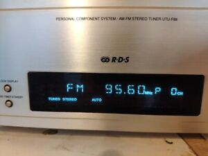 Denon Personal Component System AM/FM Stereo Tuner Model UTU-F88