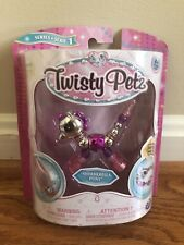 Twisty Petz Silver Shimmerella Pony Twist Bracelet Series 1 New
