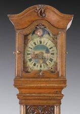 Spätbarocke Standuhr datiert 1782, Mondphasen und Datum (100071)