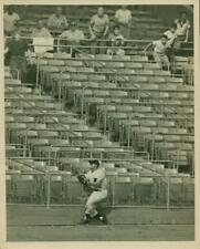 Original NY Times Press Photo of Hank Bauer making a catch in 1950