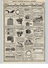 1922 PAPER AD Ford Car Auto Parts Repair Holley Kingston Carburetor
