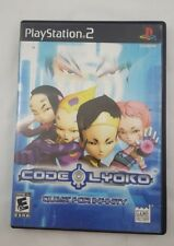 Code Lyoko: Quest for Infinity - Playstation 2 Game Complete