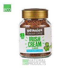 Beanies Instant Coffee Irish Cream Flavour Decaf 50g