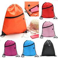 Liberty String Drawstring Backpack Tote Cinch Sack School Bag Sport Pack Bookbag