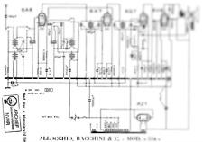ALLOCCHIO BACCHINI 514 659 1074 1076 1078 106 Service Manual Diagrams Schaltplan