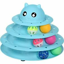 New listing Upsky Cat Toy Roller Cat Toys 3 Level Towers Tracks Roller with Six Colorful .