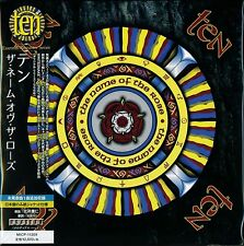 TEN - NAME OF THE ROSE CD +2 - 2015 JAPAN RMST MLPS - Gary Hughes - Vinny Burns