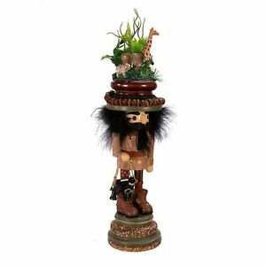 "Kurt Adler 15"" Hollywood Zoo Menagerie Nutcracker"