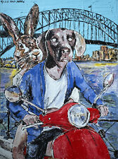 GILLIE AND MARC-direct from the artists-authentic artistic print Sydney travel