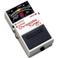 BOSS TU-3 Chromatic Tuner NEW Guitar Effects Pedal