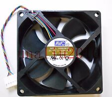 AVC DS09225B12U Fan 12V 0.56A 90*90*25mm 4wire 6pin