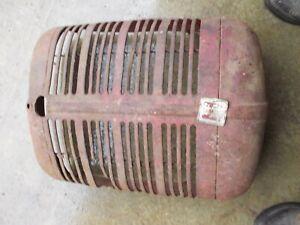 Farmall A B BN IH tractor front nose cone grill