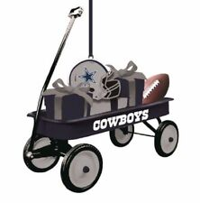 Team Sports America NFL Team Wagon Ornament Dallas Cowboys, New In Package
