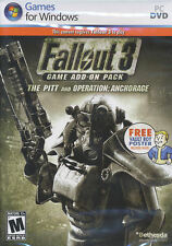 Fallout 3 THE PITT & OPERATION ANCHORAGE Expansions NEW