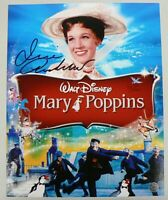 T V & STAR JULIE ANDREWS SIGNED COLOR PHOTOGRAPH WITH COA