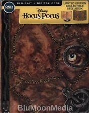 Hocus Pocus BLU-RAY Steelbook & Digital code Best Buy Anniversary Edition NEW