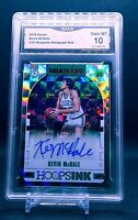 2018-19 Panini Hoops KEVIN MCHALE Hoops Ink AUTOGRAPH RED #2/25 Boston Celtics