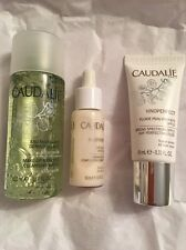 New Caudalie 3 Step Regimen Cleansing Water Radiance Serum Perfecting Fluid